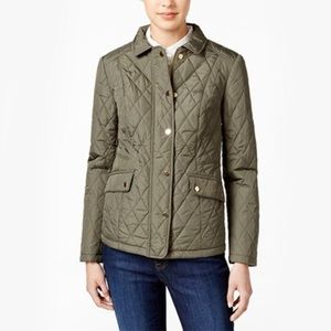 NWOT Charter Club Petite Quilted Jacket